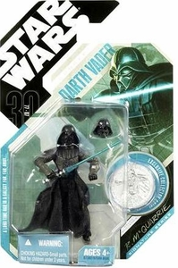 Star Wars 30th Anniversary Saga 2007 Action Figure Wave 4 #28 Darth Vader [McQuarrie Concept]