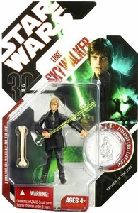 Star Wars 30th Anniversary Saga 2007 Action Figure Wave 4 #25 Luke Skywalker [Jedi Knight]