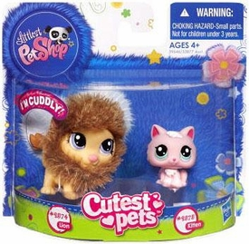 Littlest Pet Shop Cutest Pets Figures Lion & Kitten