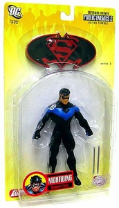DC Direct Superman & Batman Series 3 Public Enemies Action Figure Nightwing