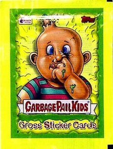 Topps Garbage Pail Kids Trading Card Gross Stickers Pack