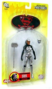 DC Direct Superman & Batman Series 3 Public Enemies Action Figure Steel Natasha Irons