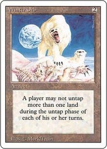 Magic the Gathering Revised Edition Single Card Rare Winter Orb
