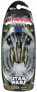 Star Wars Titanium Series Diecast Mini General Grievous Starfighter