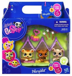 Littlest Pet Shop Petriplets 3-Pack Bears