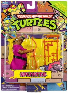 Teenage Mutant Ninja Turtles Retro 4 Inch Action Figure Splinter