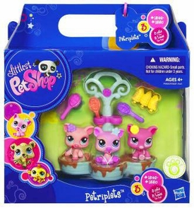 Littlest Pet Shop Petriplets 3-Pack Pigs