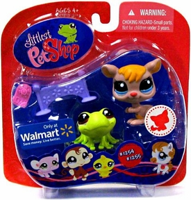 Littlest Pet Shop Exclusive Pet Pairs Figures Kangaroo & Frog