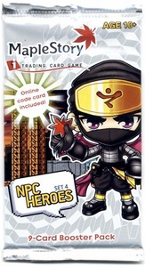Maple Story Card Game NPC Heroes Series 4 Booster Pack