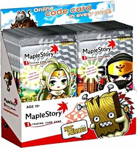 Maple Story Card Game NPC Heroes Series 4 Booster Box[24 Packs]