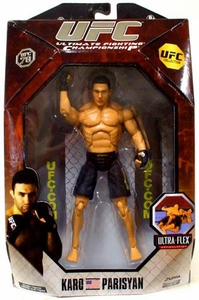 UFC Jakks Pacific Series 3 Deluxe Action Figure Karo Parisyan
