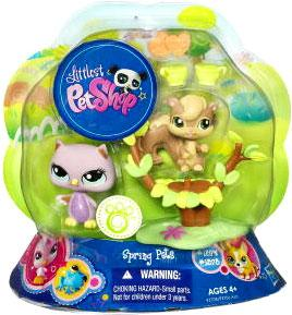 Littlest Pet Shop Spring Pets Pair Owl & Squirrel