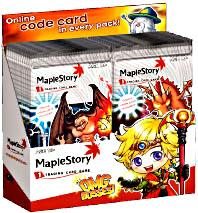 Maple Story Card Game OMG Bosses Series 2 Booster BOX[24 Packs]