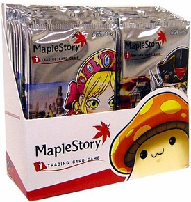 Maple Story Card Game Base Premiere Series 1 Booster Box[24 Packs]