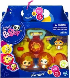 Littlest Pet Shop Petriplets 3-Pack Hamsters