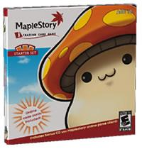 Maple Story ITCG Internet Trading Card Game Starter Deck