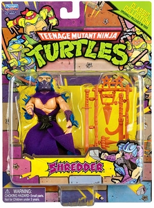 Teenage Mutant Ninja Turtles Retro 4 Inch Action Figure Shredder