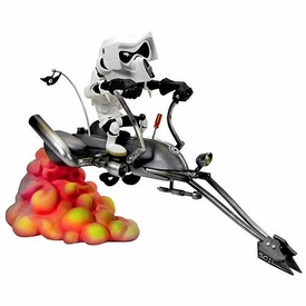 Star Wars Gentle Giant Kustomz Statue Speederbike