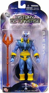 DC Direct History of the DC Universe Series 1 Action Figure Blue Devil