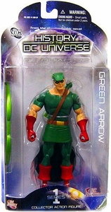 DC Direct History of the DC Universe Series 1 Action Figure Green Arrow
