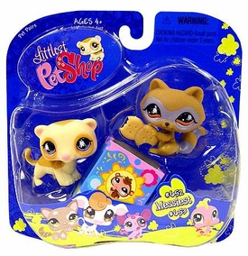 Littlest Pet Shop Pet Pairs Raccoon with Ferret