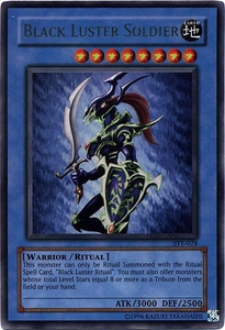 YuGiOh American Yugi Evolution Deck Single Cards Ultra Rare SYE-024 Black Luster Soldier