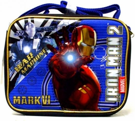 Iron Man 2 Movie War Machine & Mark VI Iron Man Lunch Tote