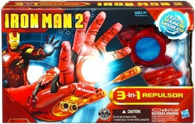 Iron Man 2 Movie Roleplay Toy 3-In-1 Repulsor [Lights, Sounds & Missiles!]