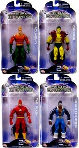 DC Direct History of the DC Universe Series 2 Set of 4 Action Figures [Creeper, Flash, Aquaman & Black Lightning]