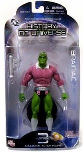 DC Direct History of the DC Universe Series 3 Action Figure Brainiac