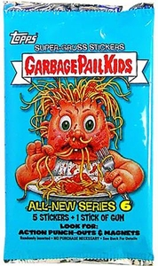 Topps Garbage Pail Kids Series 21 (All-New Series 6) Trading Card Stickers Pack