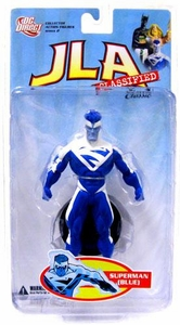 DC Direct JLA Classified Classic Series 2 Action Figure Superman [Blue]