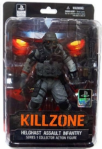 DC Direct Killzone Series 1 Collector Action Figure Helghast Assault Infantry