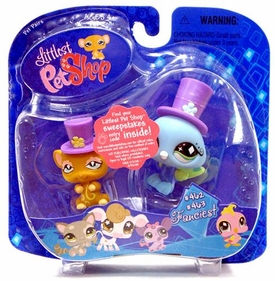 Littlest Pet Shop Pet Pairs Rat & Peacock
