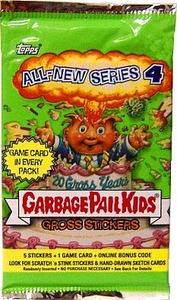 Topps Garbage Pail Kids Series 19 (All-New Series 4) Trading Card Stickers Pack
