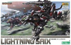 Zoids Tomy Japanese Model Kit EZ035 Lightning Saix