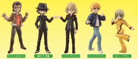 Tiger & Bunny Bandai Half Age Characters Vol. 2 Set of 8 Figures