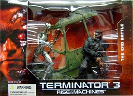 McFarlane Toys Terminator 3 Deluxe Action Figure Boxed Set Rise of the Machines