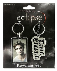 NECA Twilight Eclipse Movie Keychain 2-Pack Team Edward
