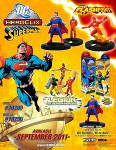 DC HeroClix Superman Booster Pack [5 Figures]