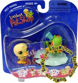Littlest Pet Shop Pet Pairs Figures Froggy & Ducky