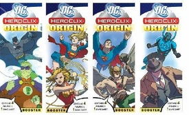 DC Heroclix Origins Factory Sealed Set