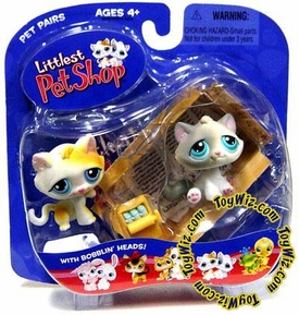 Littlest Pet Shop Pet Pairs Figures 2 Kittens in Box