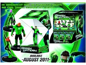 Green Lantern Movie Heroclix Counter Top Display of 24 Random Figures
