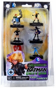 DC Heroclix Batman Streets of Gotham Fast Forces Deluxe Starter Game [Includes 6 Figures]