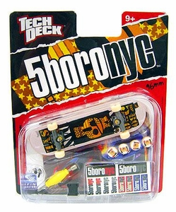 Tech Deck Single 96mm Skateboard 5boronyc [Dan Pensyl]