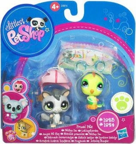 Littlest Pet Shop Series 1 Prized Pet Pairs Sugar Glider & Yellow Bird