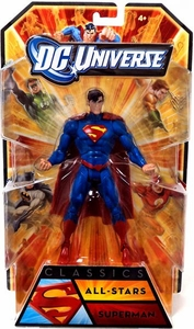 DC Universe Classics All Star Action Figure Superman Damaged Package, Mint Contents!