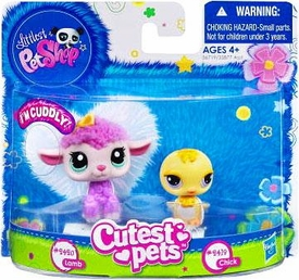 Littlest Pet Shop Cutest Pets Figures Soft Lamb & Chick
