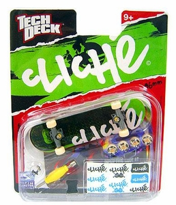 Tech Deck Single 96mm Skateboard Cliche [Green Tread]